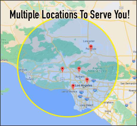 Restoration, service locations